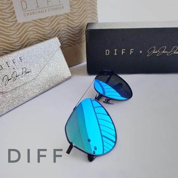 5bca2e85d6cd8 Diff Eyewear Accessories - DIFF Jessie James Decker DASH Polarized  Sunglasses